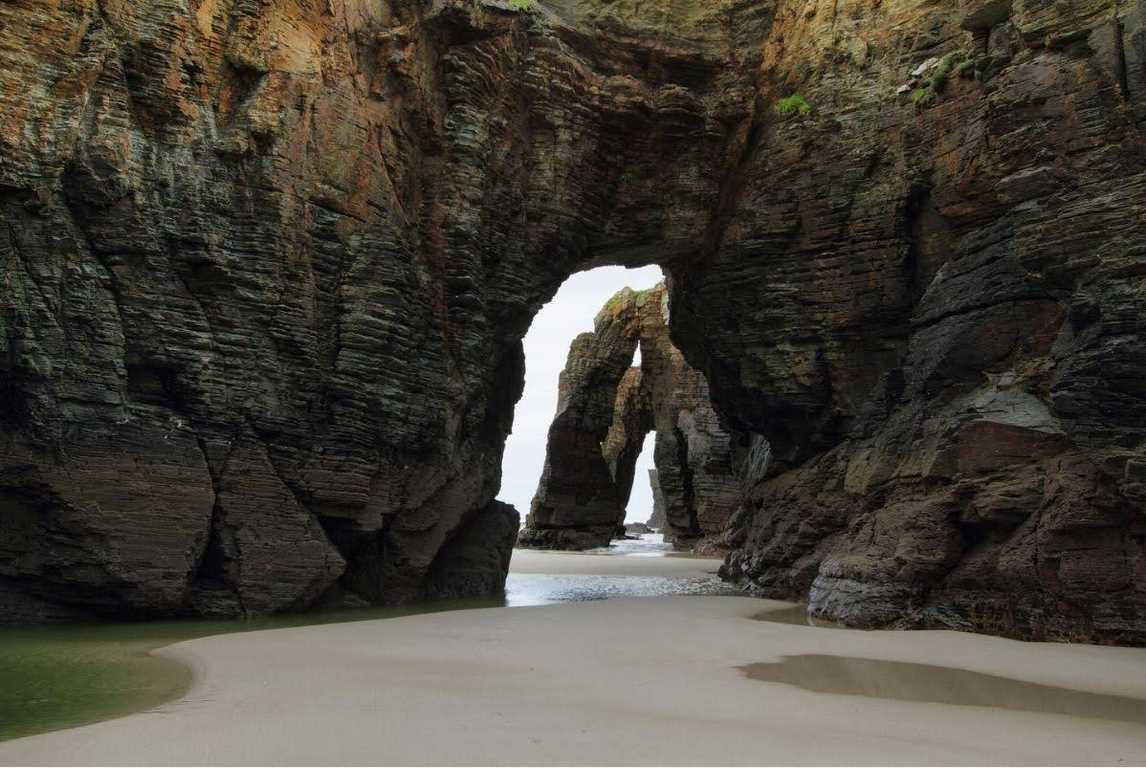 Arcos en la playa de las Catedrales