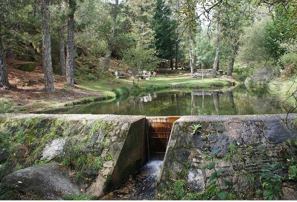 Laguna en Monte Aloia, Parque Natural