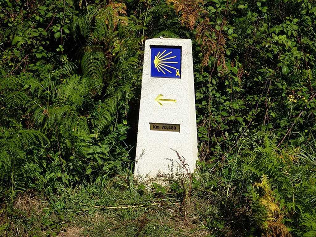 Camino de Santiago - señalización