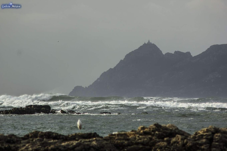 Islas Cíes, desde Cabo Estai