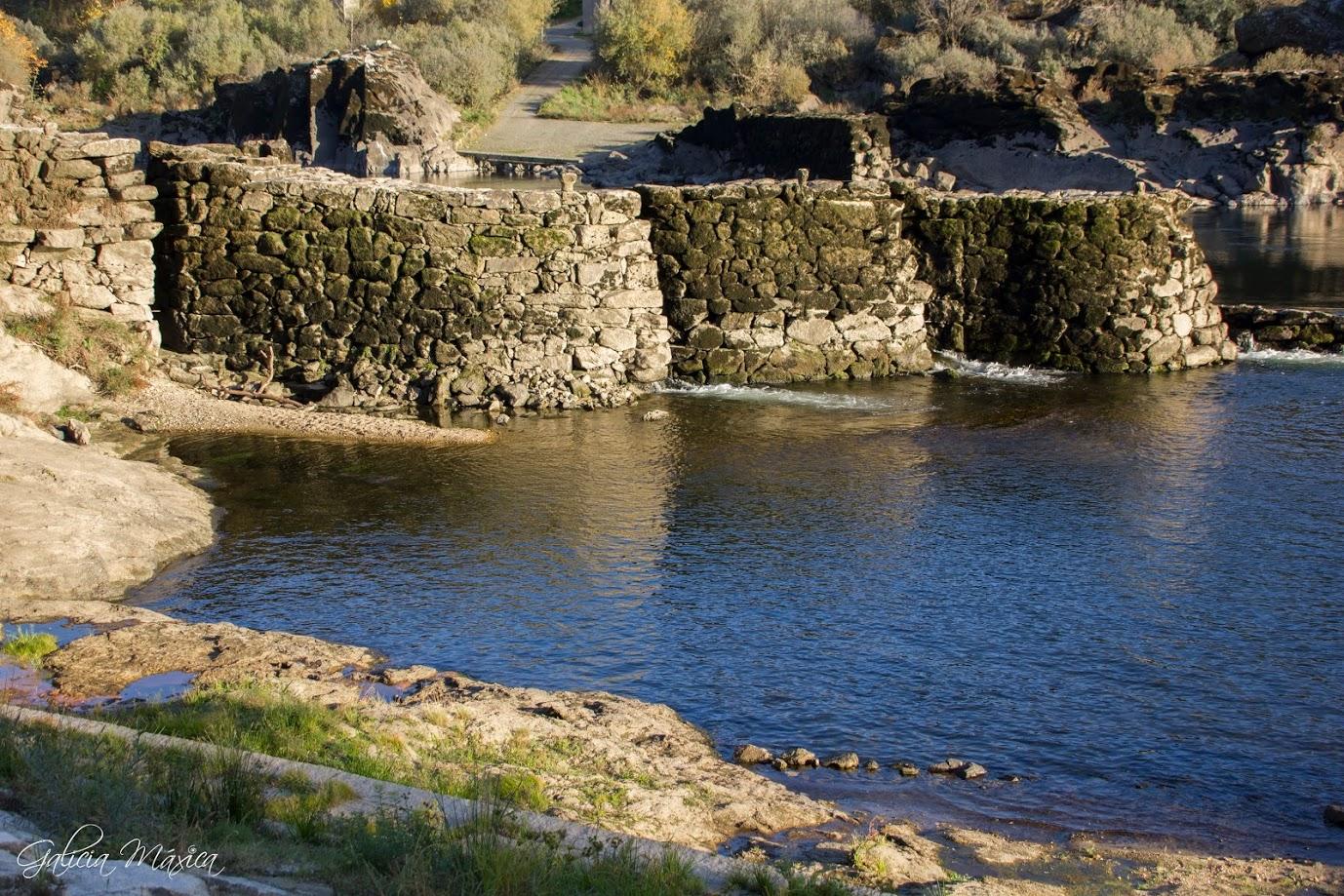Pesqueiras dos Cregos en el río Miño