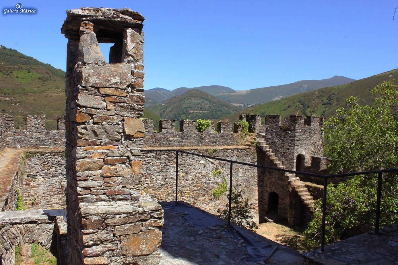 Vista desde el castillo de Doiras