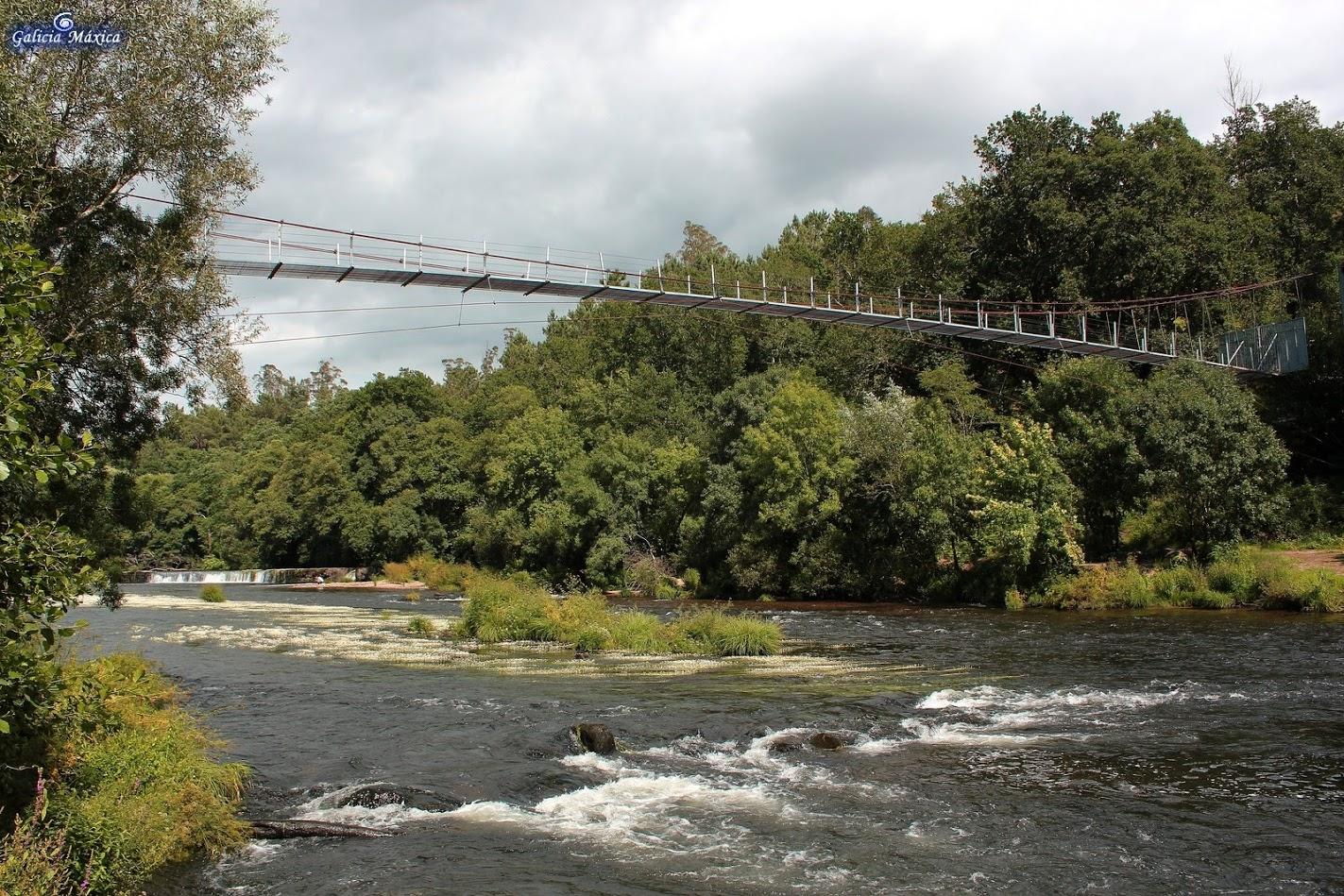 Puente colgante de O Xirimbao