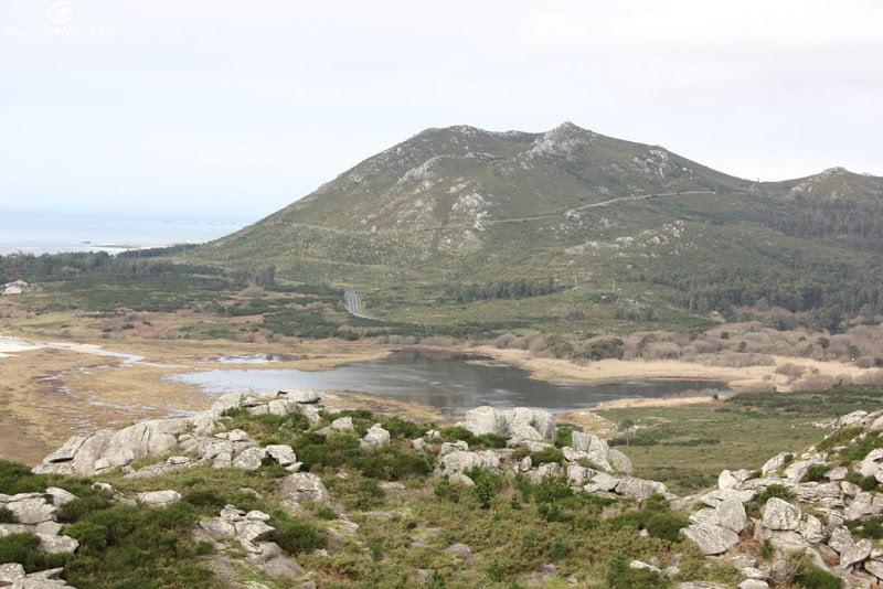 Lagoa de Xarfas, Muros