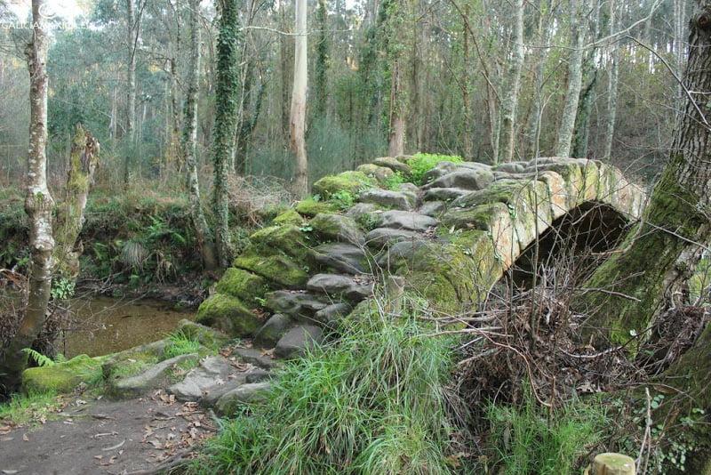 Puente de río Sieira