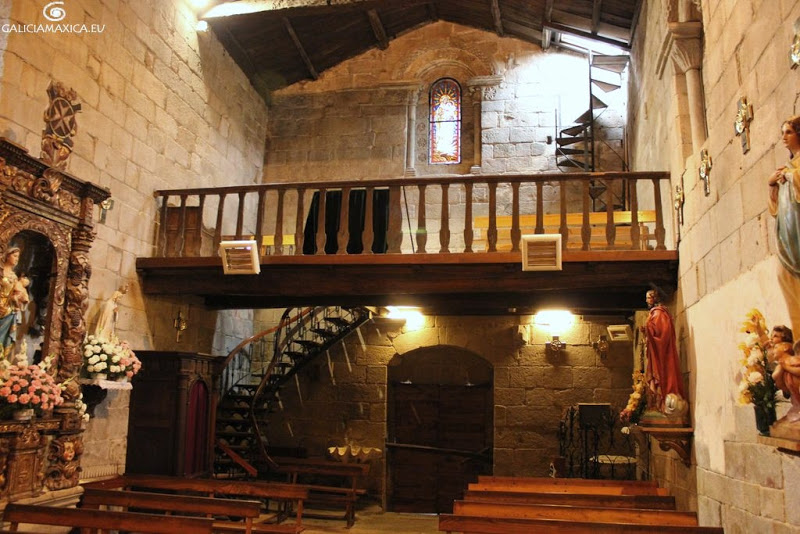 interior de la Iglesia de Castrelos