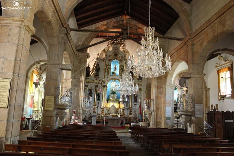 Interior de la iglesia de San Campio