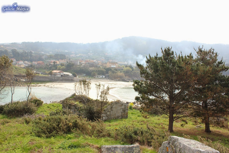 Playa de Portal en Cangas