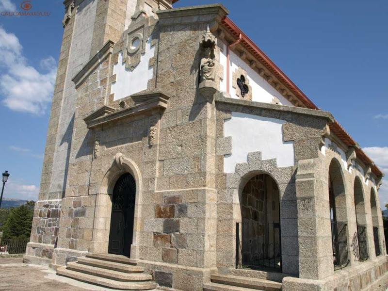 Fachada de la ermita de la Guía