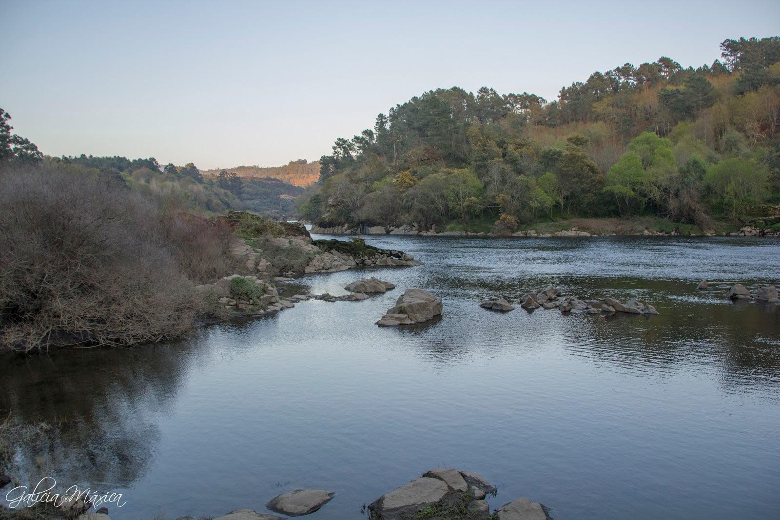 Río Miño en Crecente