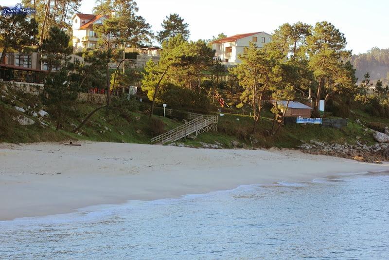 Playa de Arneles en Cangas