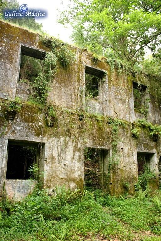 Edificio de los baños de San Xusto