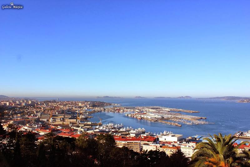 Vistas de Vigo