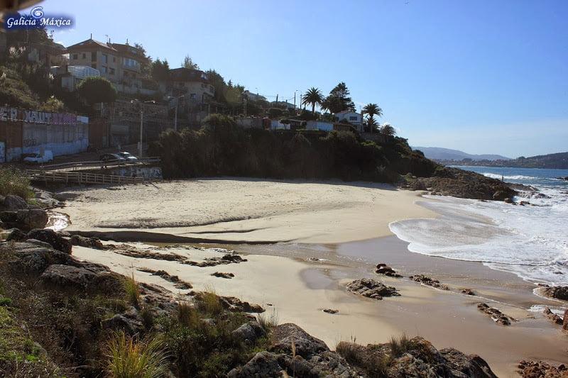 Playa de Os Muíños de Fortiñón