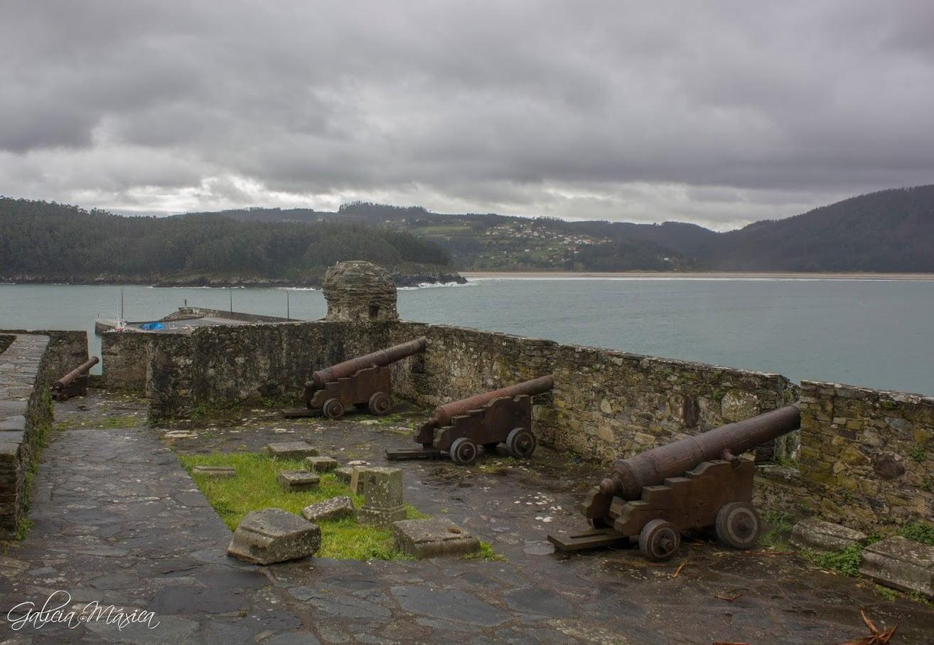 Cañones sobre el castillo