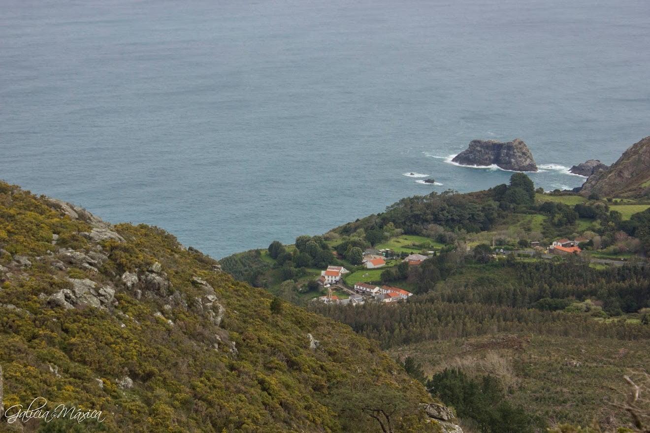 Vistas de San Andrés de Teixido