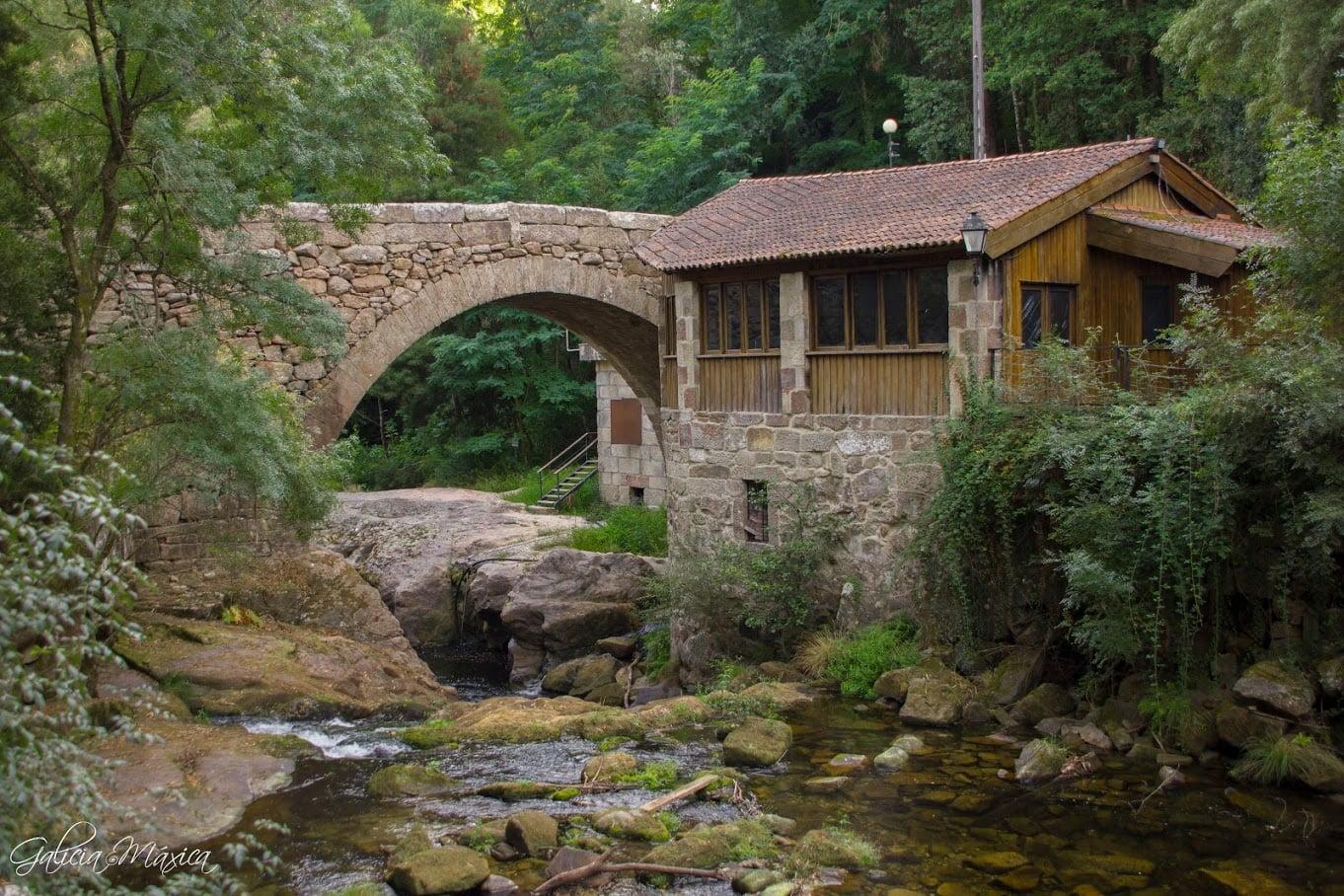 Puente de Mourentán en Arbo