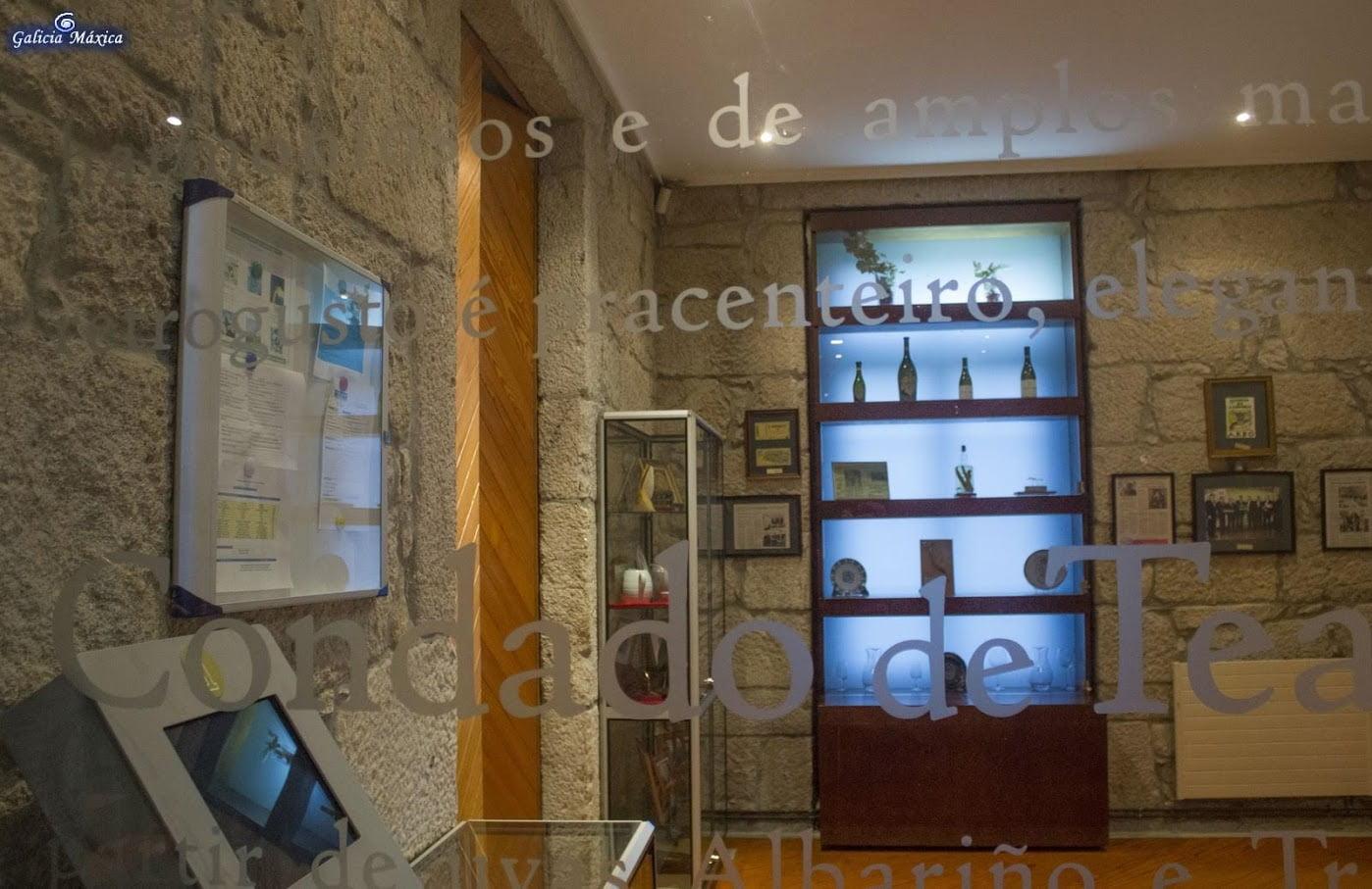 Interior del museo de Arabo