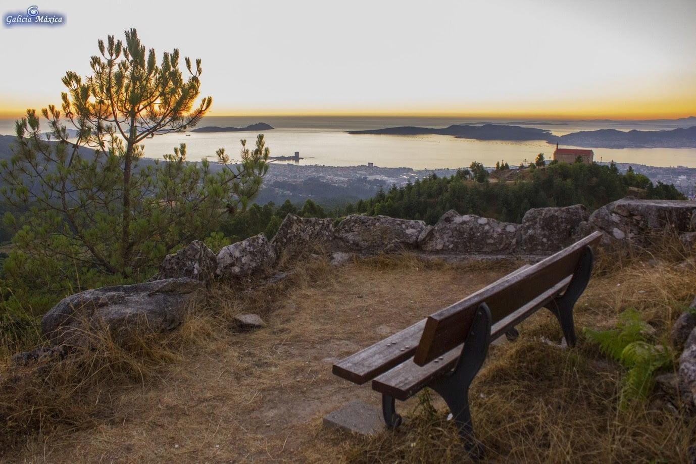 Vista del Alba desde el Cepudo