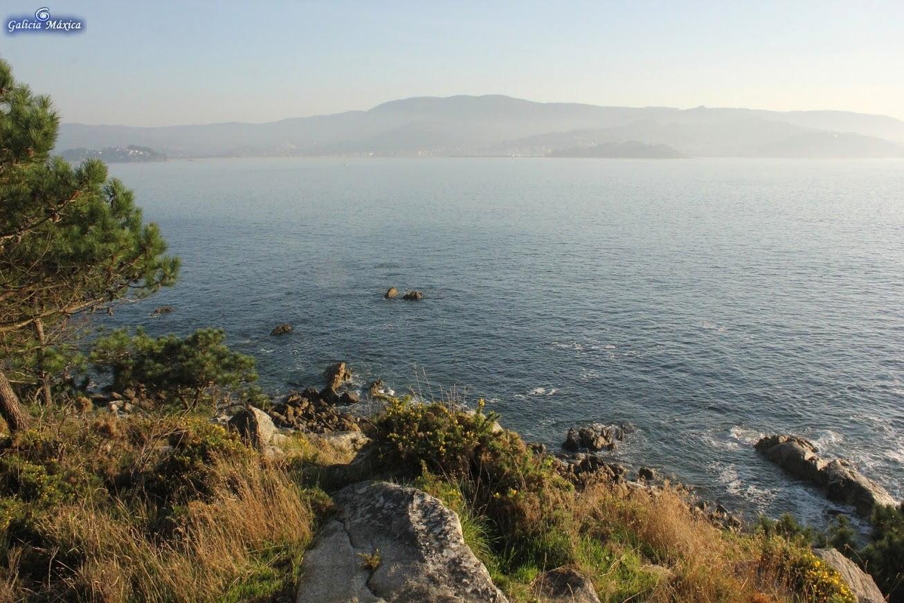 Bocana de la ría de Baiona
