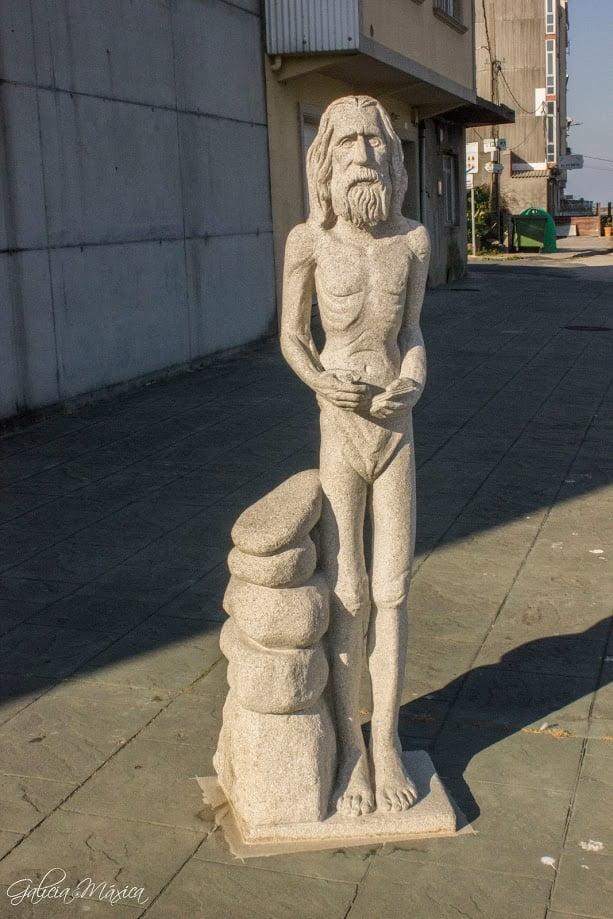 Estatua de Man