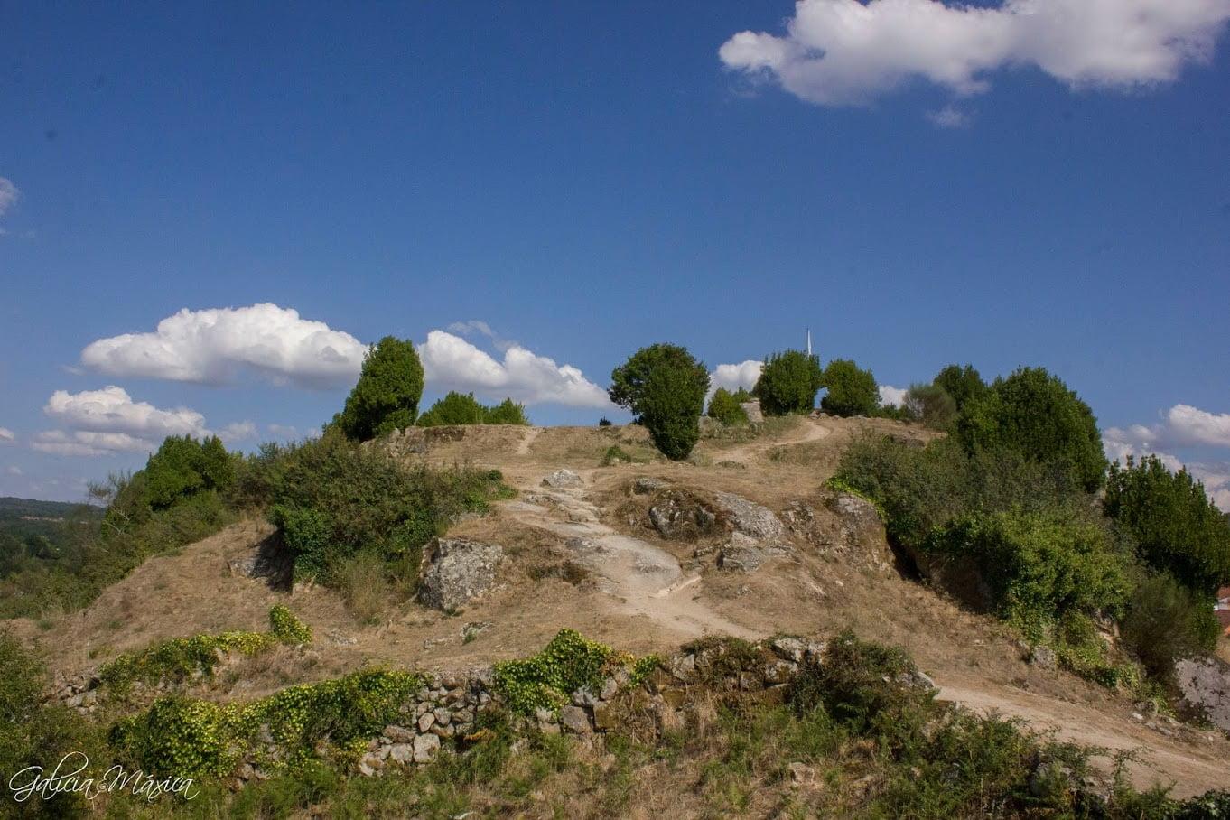 Restos del castillo de Allariz
