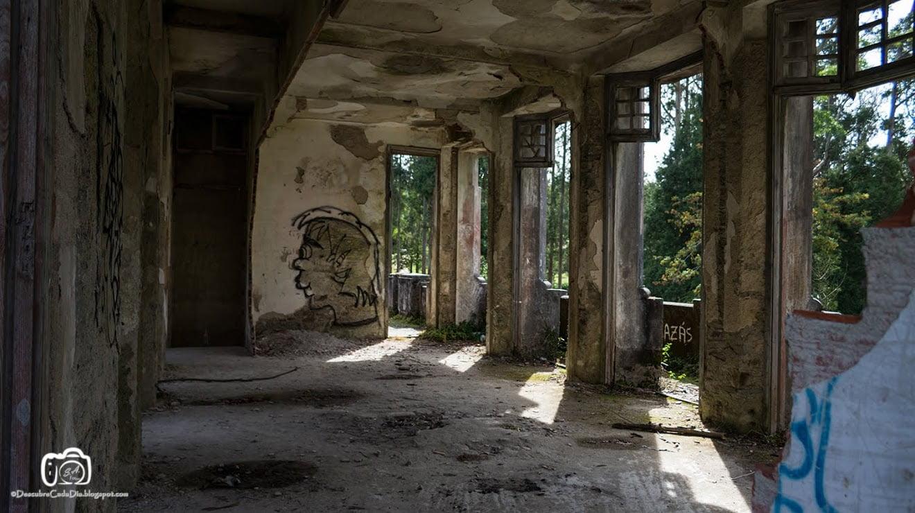 Interior del Sanatorio de Cesuras