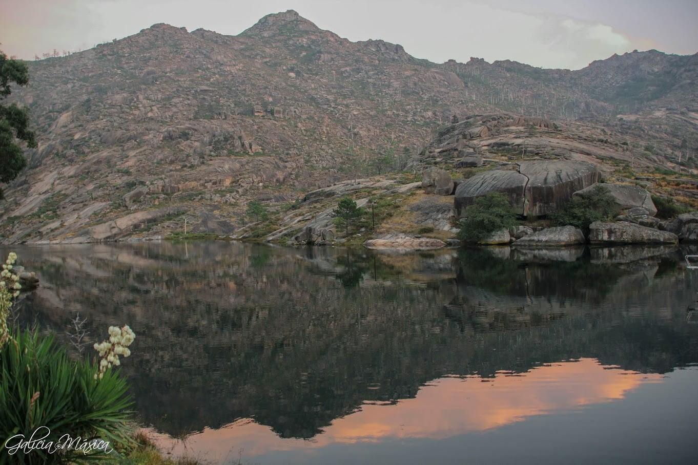 El monte Pindo desde O Ézaro