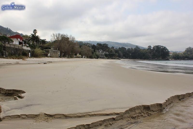 Playa de Lapamán en Bueu