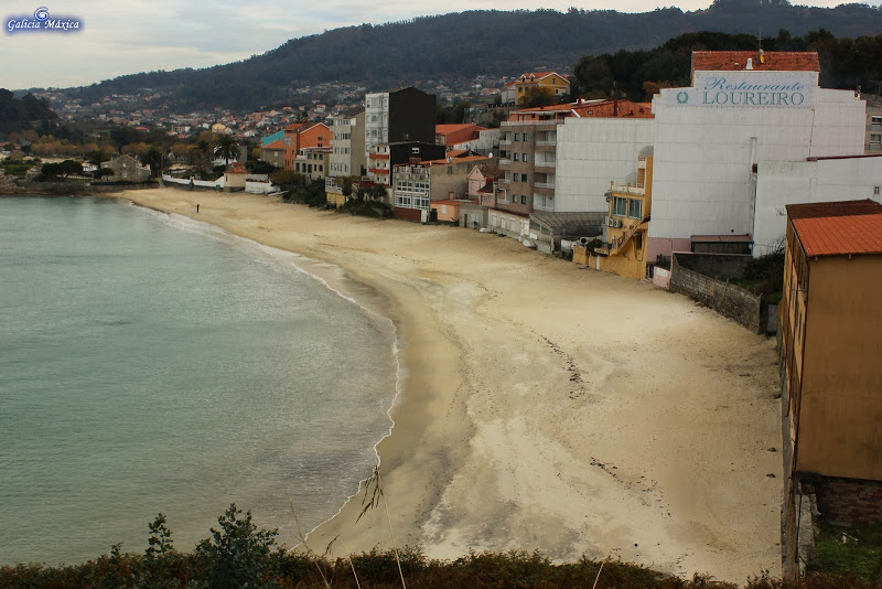 Playa de Loureiro en Bueu