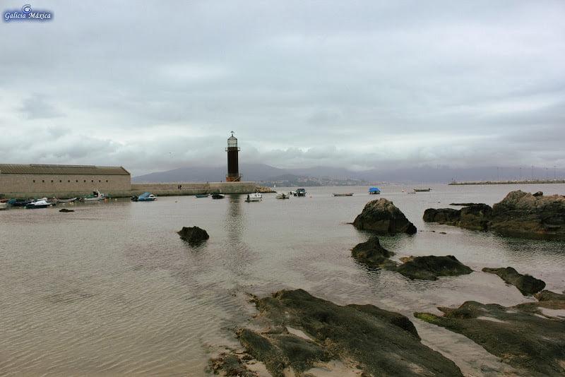 Faro de Punta do Muíño de Vento