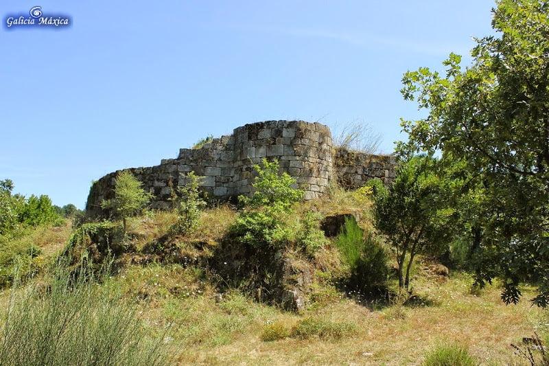 Castillo de A Peroxa, torreón