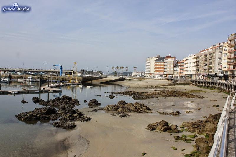Playa de Os Barcos, Sanxenxo