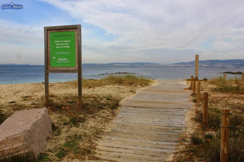 Playa de Portomaior