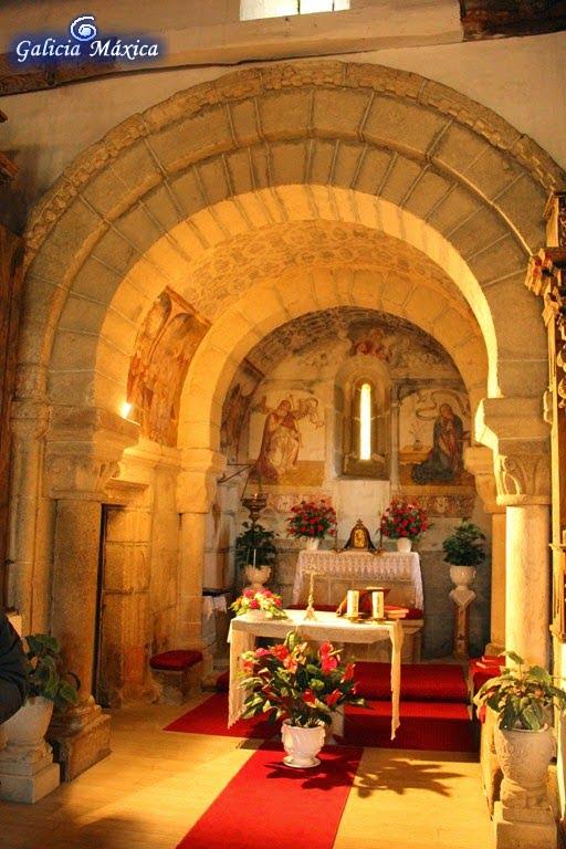 Interior de la iglesia de Proendos
